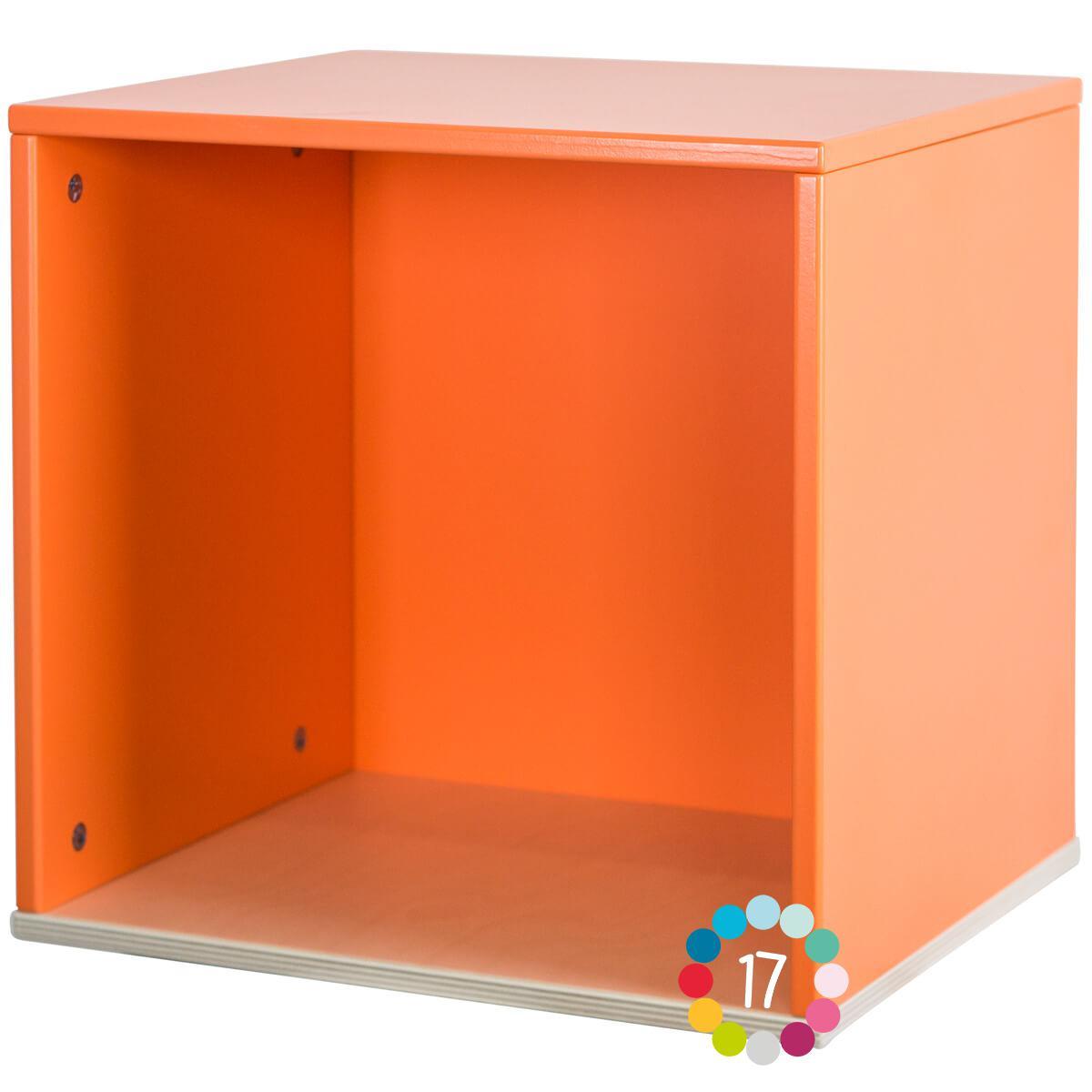 Cube mural COLORFLEX pure orange