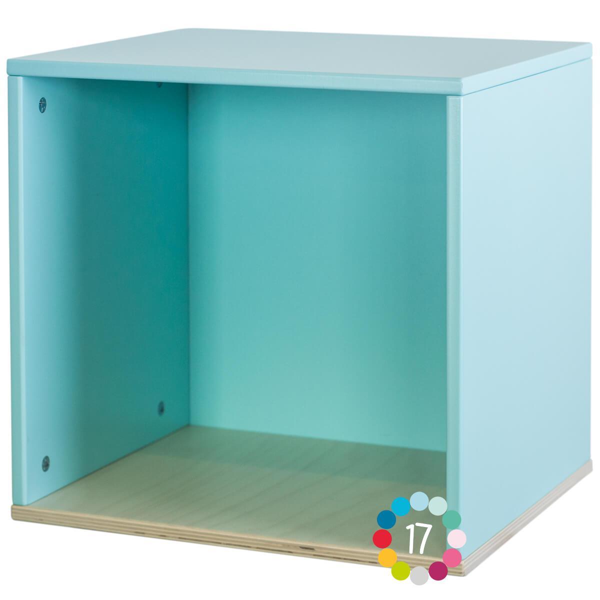 Cube mural COLORFLEX sky blue