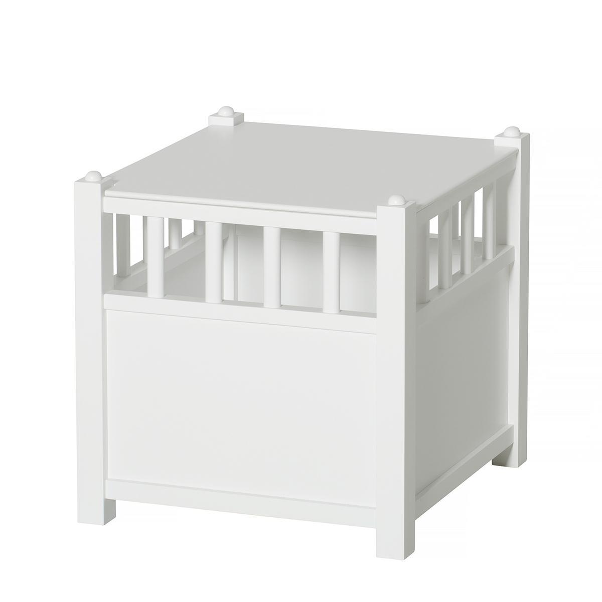 Cube rangement SEASIDE Oliver Furniture blanc