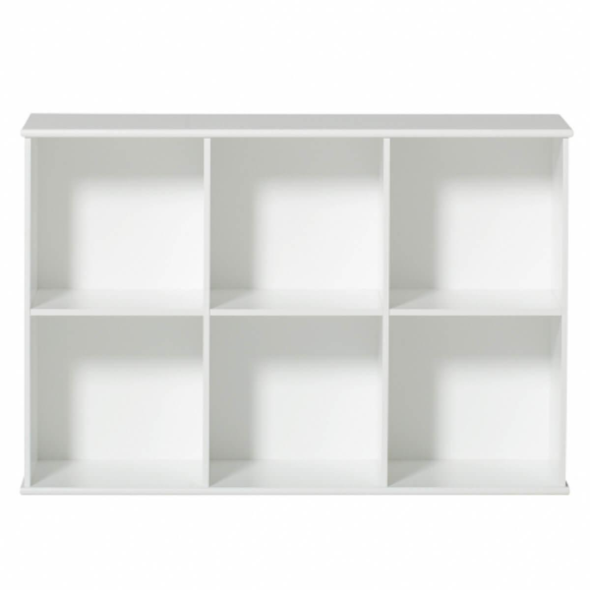 Etagère 106x71cm WOOD Oliver Furniture blanc