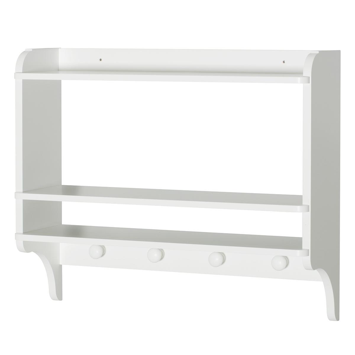 Etagère 4 boutons SEASIDE Oliver Furniture blanc