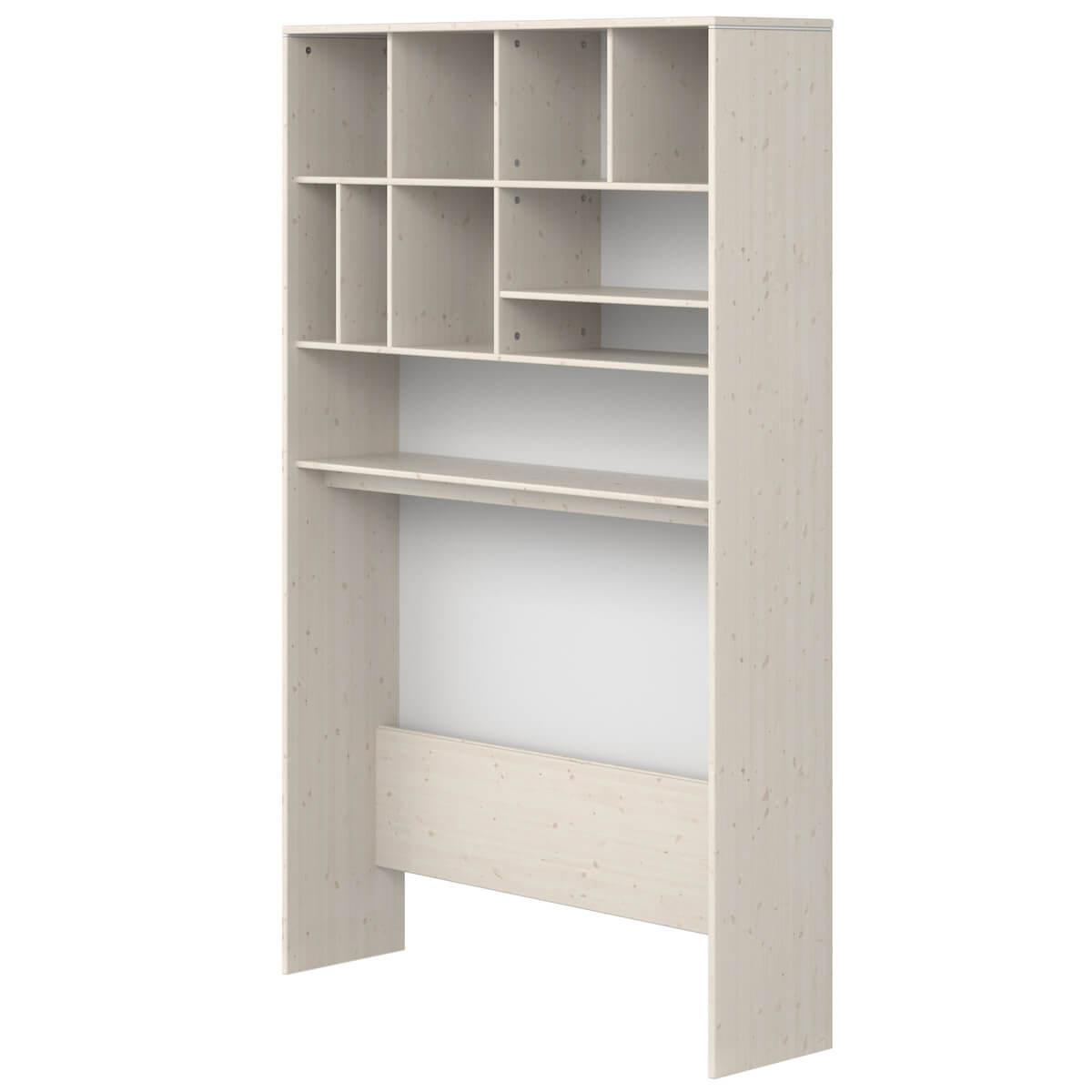 Etagère bureau-lit 126x203cm CLASSIC Flexa blanchi