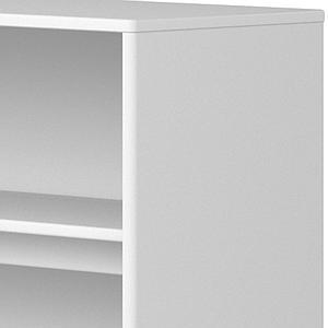 Etagère fixation lit 125x135cm STUDY CABBY Flexa blanc
