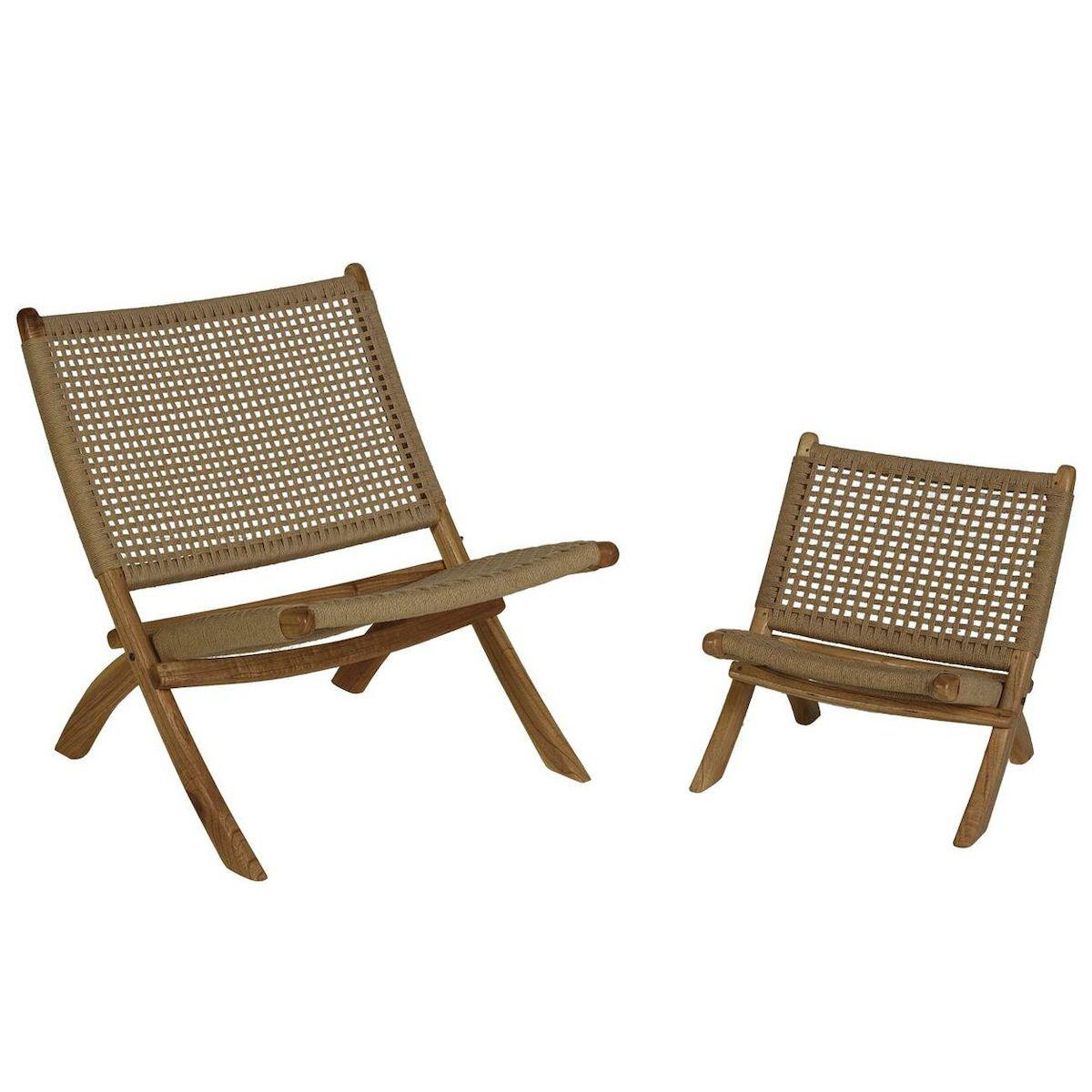 Fauteuil adulte LOOM ROPE Quax