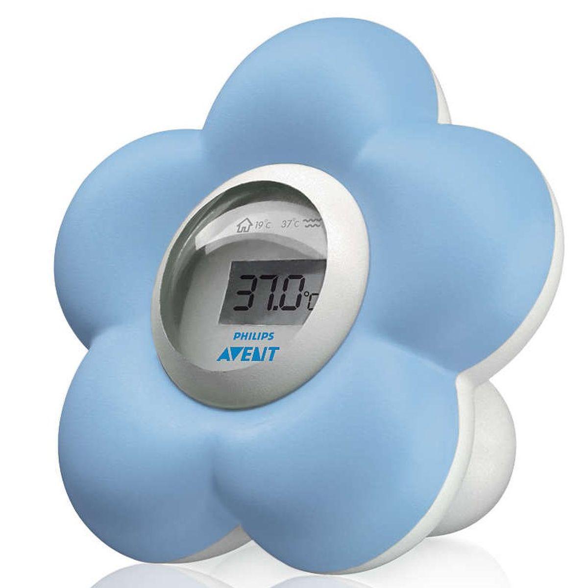 FLEUR by Avent Thermomètre de bain Bleu
