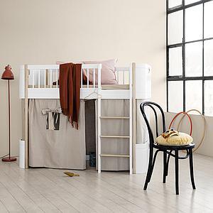 Kit conversion lit bébé-lit mi hauteur MINI+ WOOD Oliver Furniture chêne