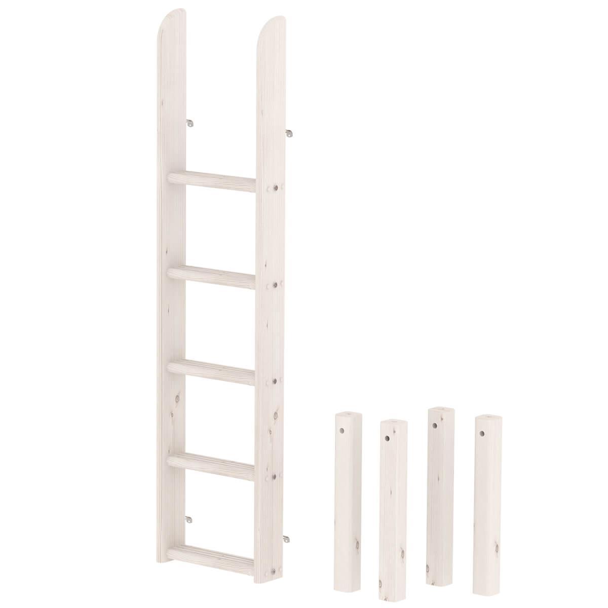 Kit échelle jonctions lit superposés haut CLASSIC Flexa blanchi