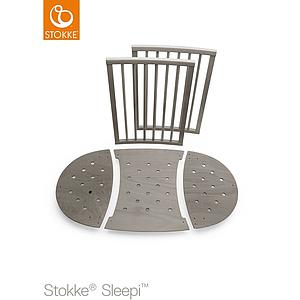 Kit extension lit bébé SLEEPI Stokke gris brume