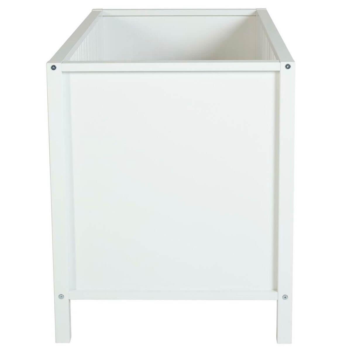 Lit 60x120cm KUMO Quax blanc