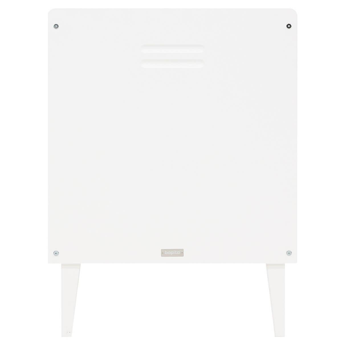 Lit 60x120cm LOCKER Bopita blanc