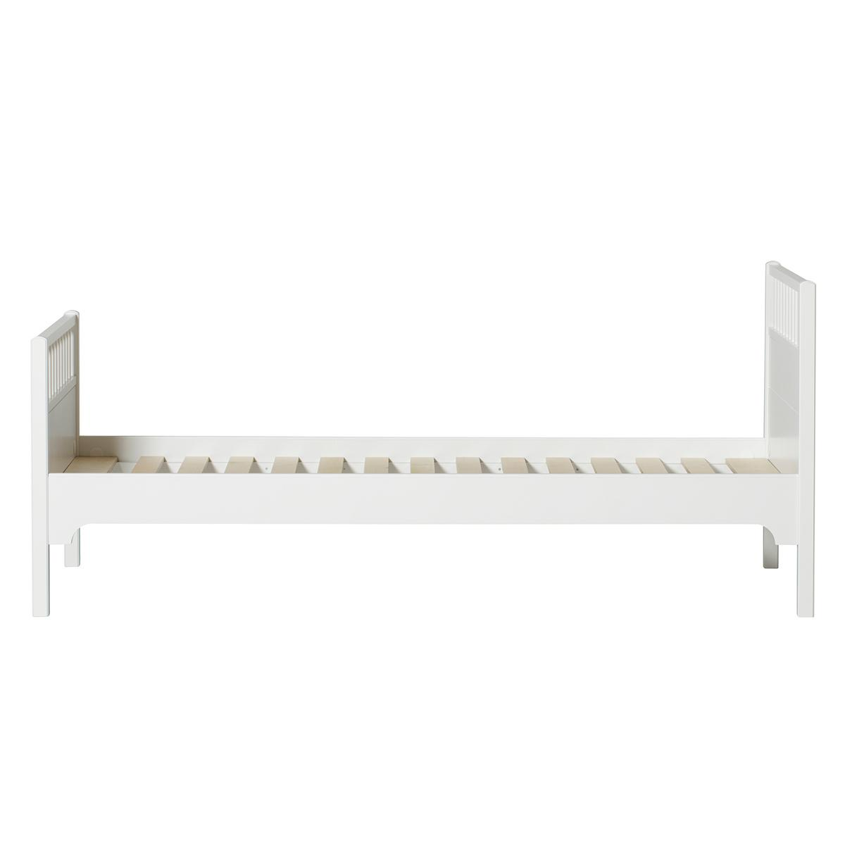 Lit 90x200 cm SEASIDE CLASSIC Oliver Furniture blanc