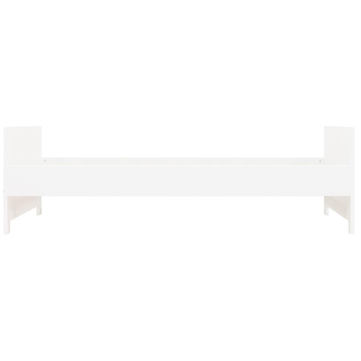 Lit 90x200cm LUCCA Bopita blanc