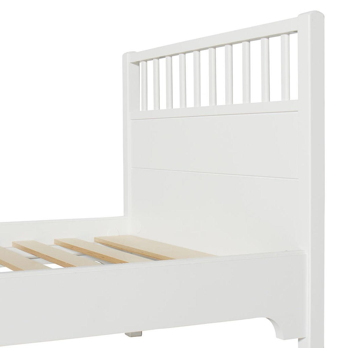 Lit 90x200cm SEASIDE CLASSIC Oliver Furniture blanc