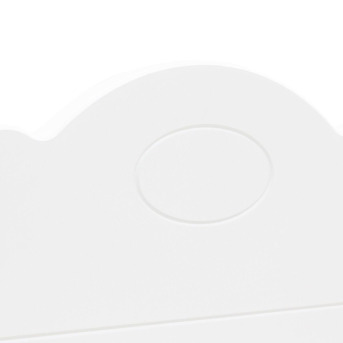 Lit banquette 70x140cm EVI Bopita blanc
