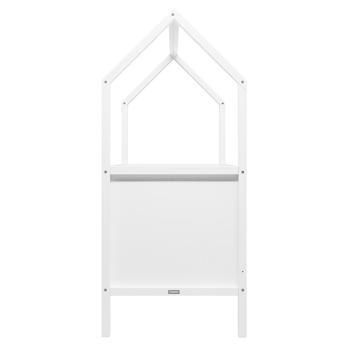 Lit banquette 70x140cm MY FIRST HOUSE Bopita blanc