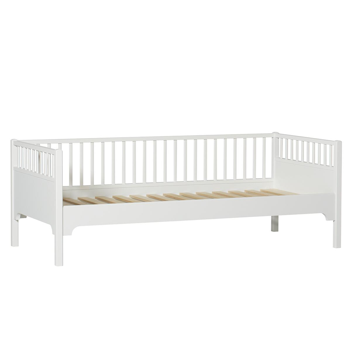 Lit banquette 90x200 cm SEASIDE CLASSIC Oliver Furniture blanc