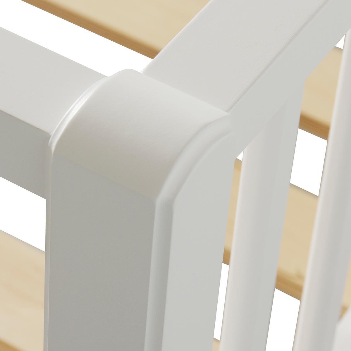 Lit banquette 90x200 cm SEASIDE Oliver Furniture blanc
