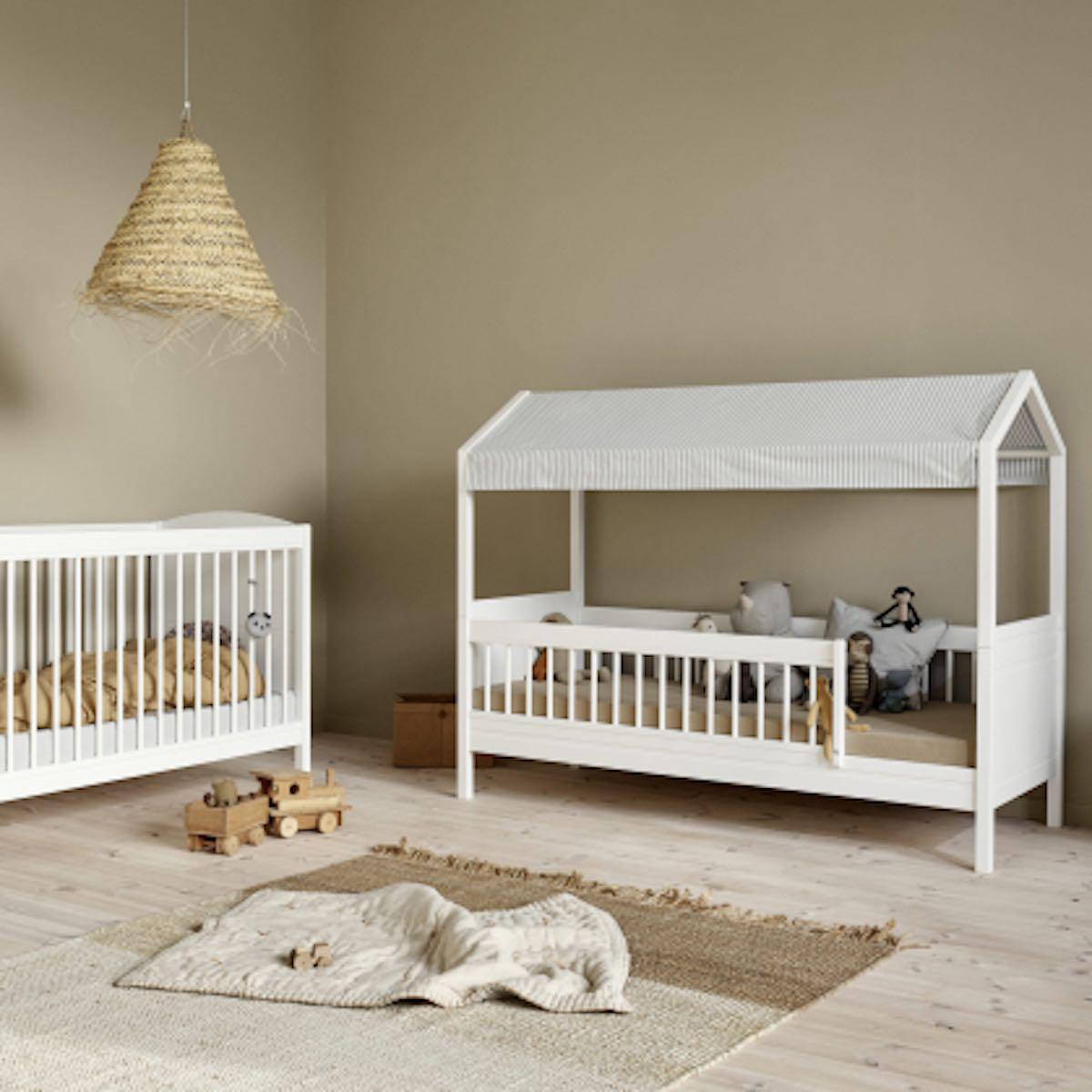 Lit banquette évolutif 68x168cm SEASIDE LILLE+ Oliver Furniture blanc