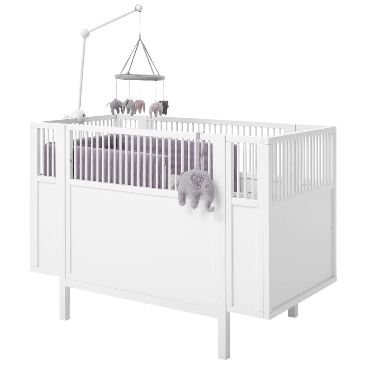 Lit bébé 60x120cm Lifetime blanc