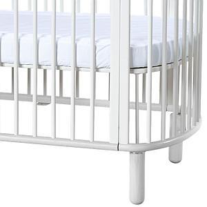 Lit bébé évolutif 140x70cm BABY Flexa naturel-blanc