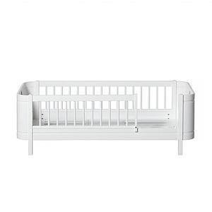 Lit bébé évolutif 68x122cm/162cm WOOD MINI+ Oliver Furniture blanc