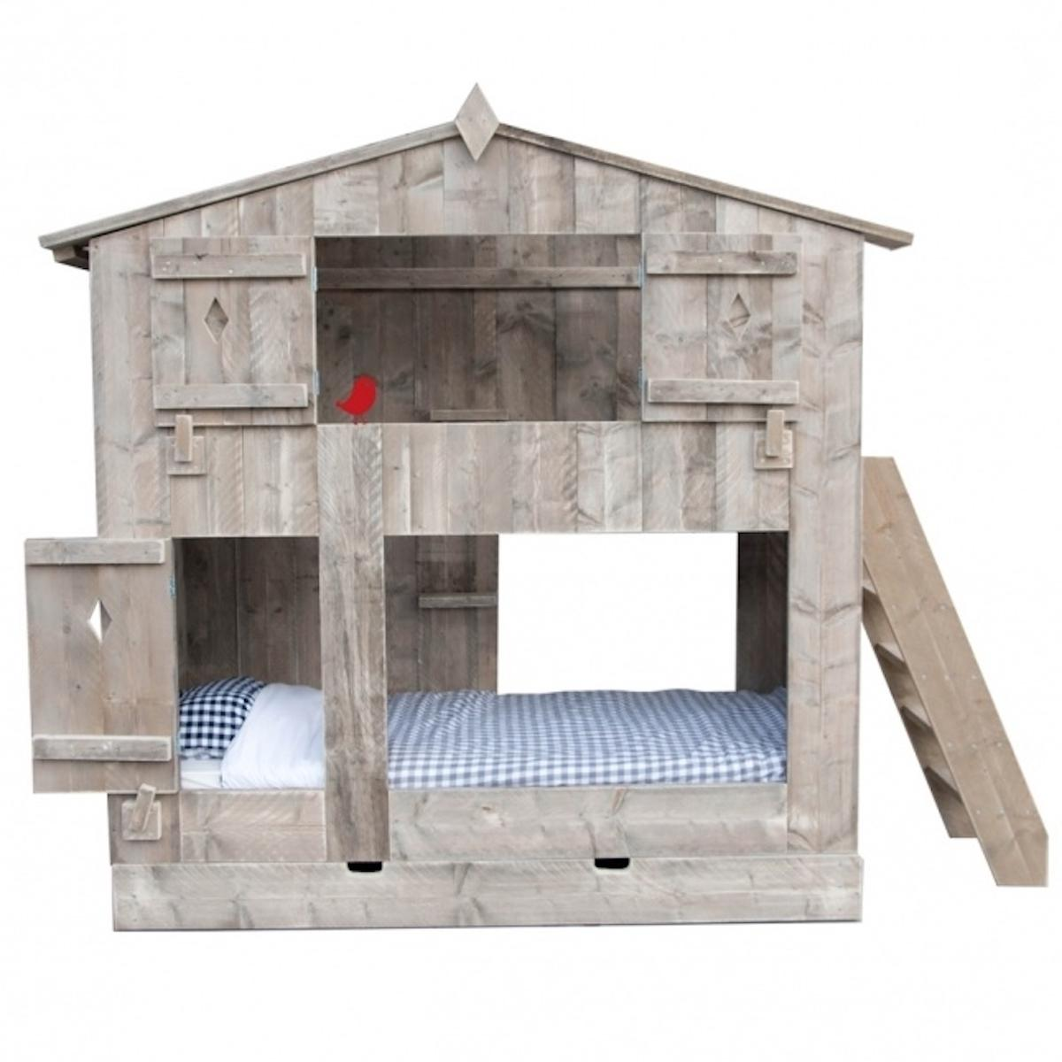 Lit cabane superposés BOOMHUT Dutchwood