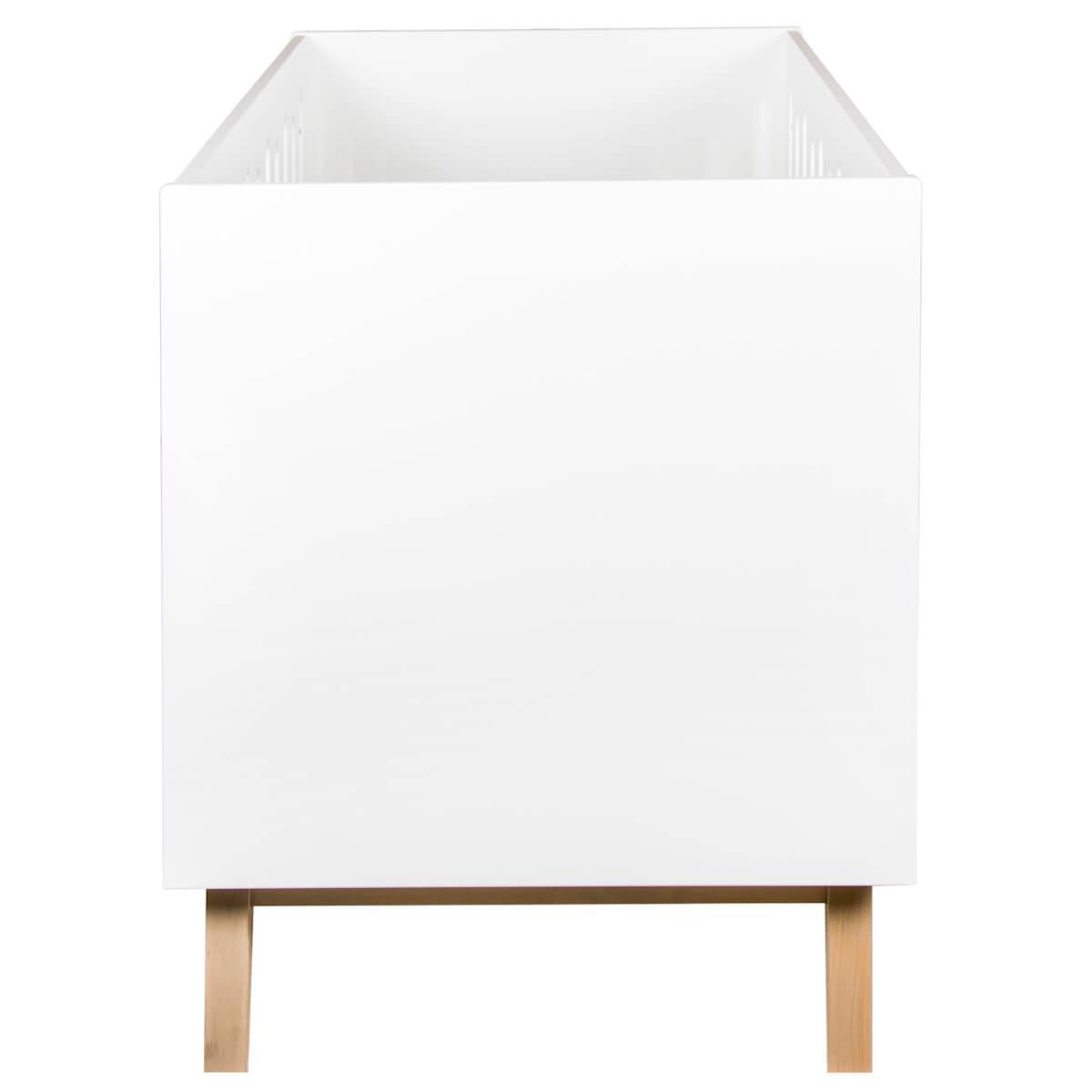 Lit évolutif 70x140cm TRENDY Quax blanc