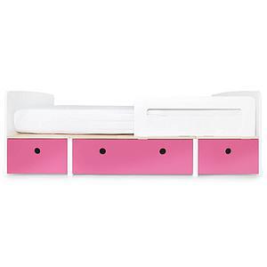 Lit évolutif 90x200cm COLORFLEX Abitare Kids pink
