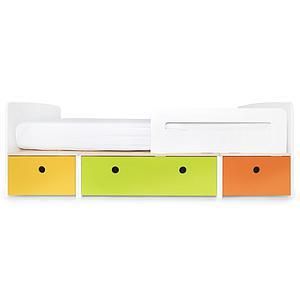 Lit évolutif 90x200cm COLORFLEX nectar yellow-lime-pure orange