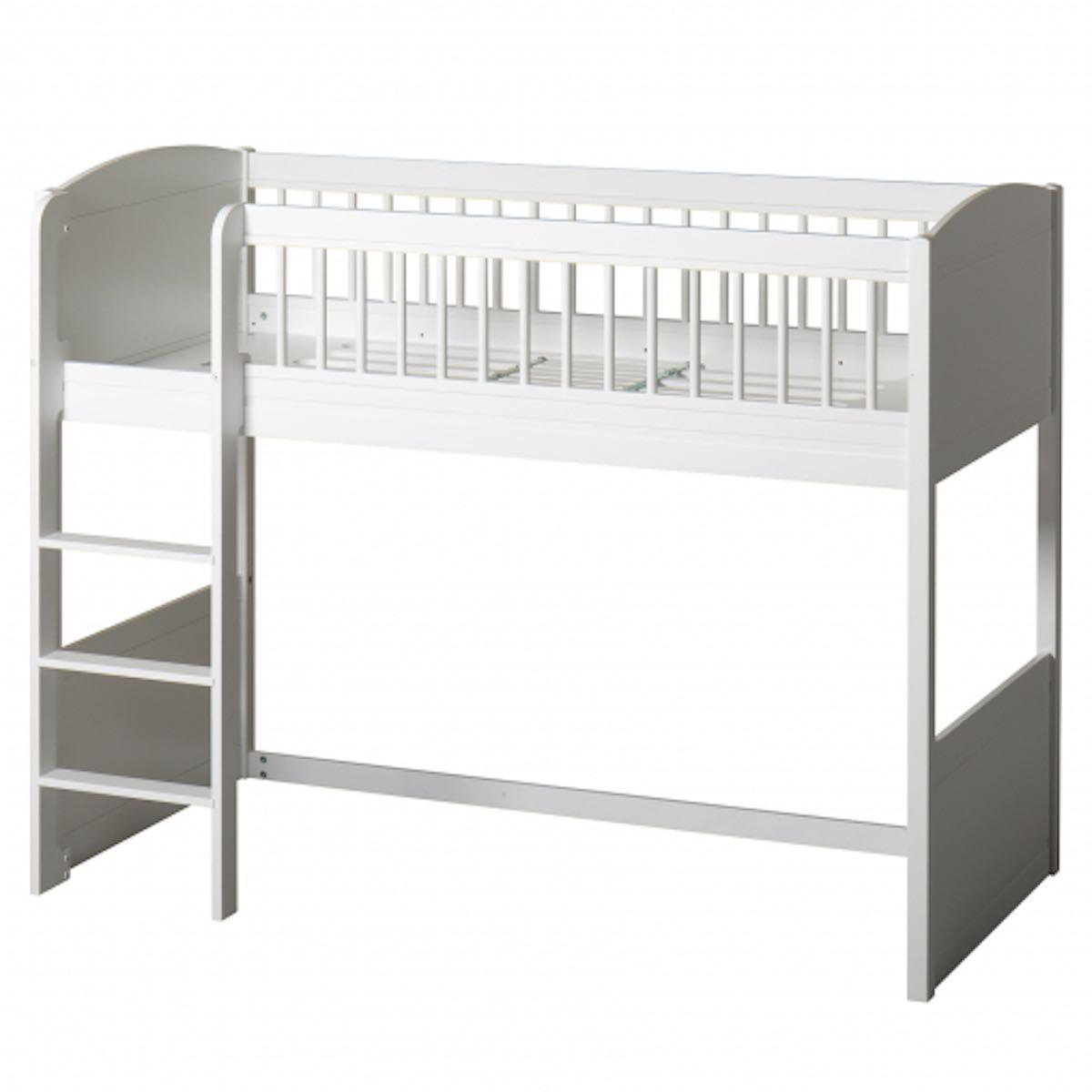 Lit évolutif mi hauteur 68x168cm SEASIDE LILLE+ Oliver Furniture blanc