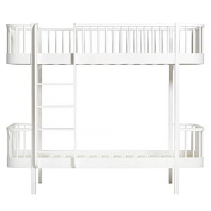 Lit évolutif superposé 90x200cm WOOD ORIGINAL Oliver Furniture blanc