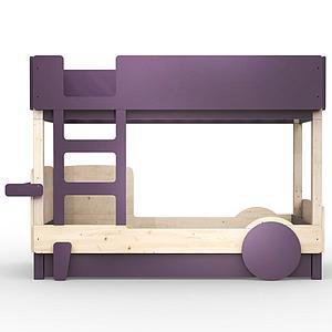 Lit gigogne DISCOVERY Mathy by Bols violet cuberdon