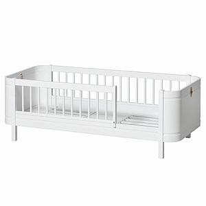 Lit junior 68x162cm MINI+ Oliver Furniture blanc