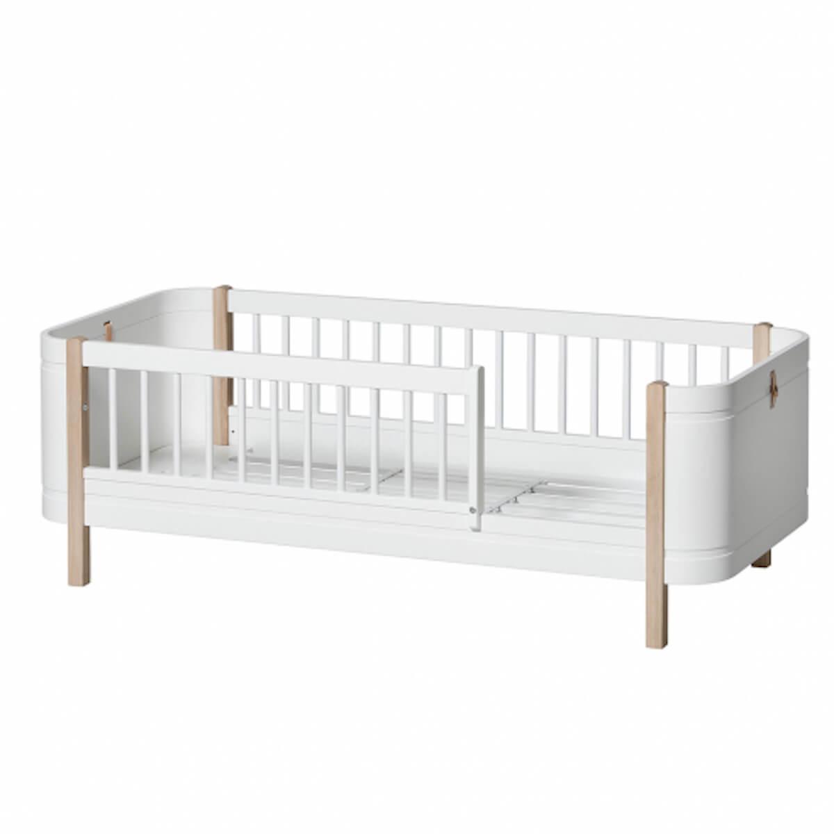 Lit junior 68x162cm MINI+ Oliver Furniture chêne-blanc
