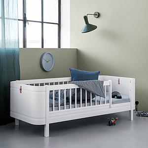 Lit junior 68x162cm WOOD MINI+ Oliver Furniture blanc