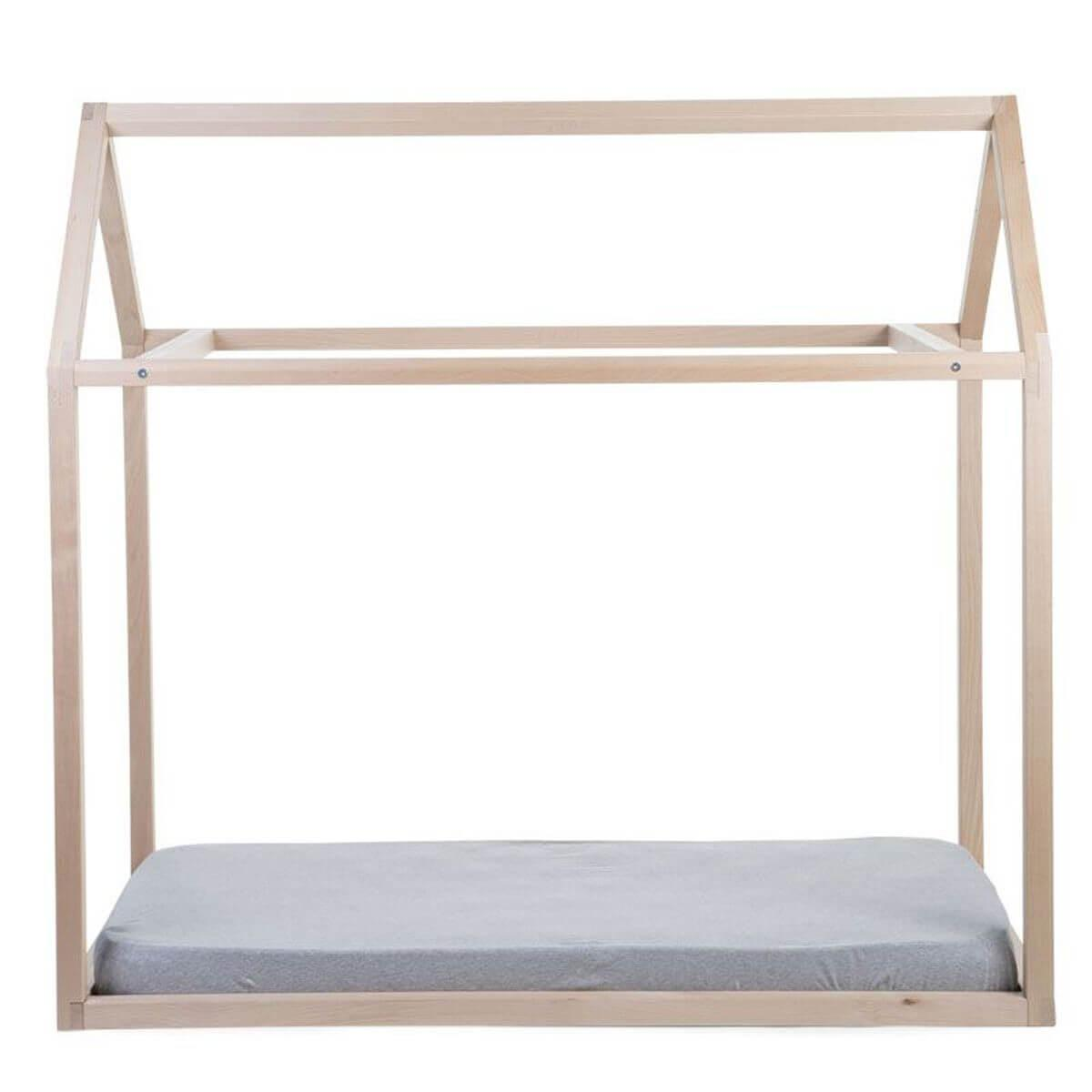 Lit-maison 70x140cm Childhome naturel