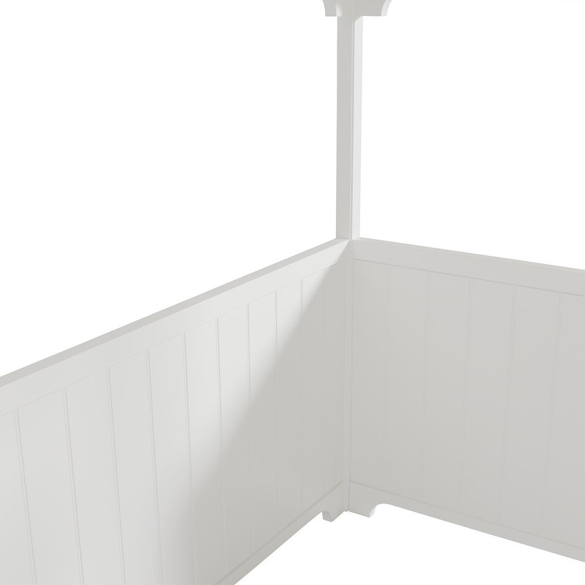Lit mezzanine 90x200 cm SEASIDE CLASSIC Oliver Furniture blanc