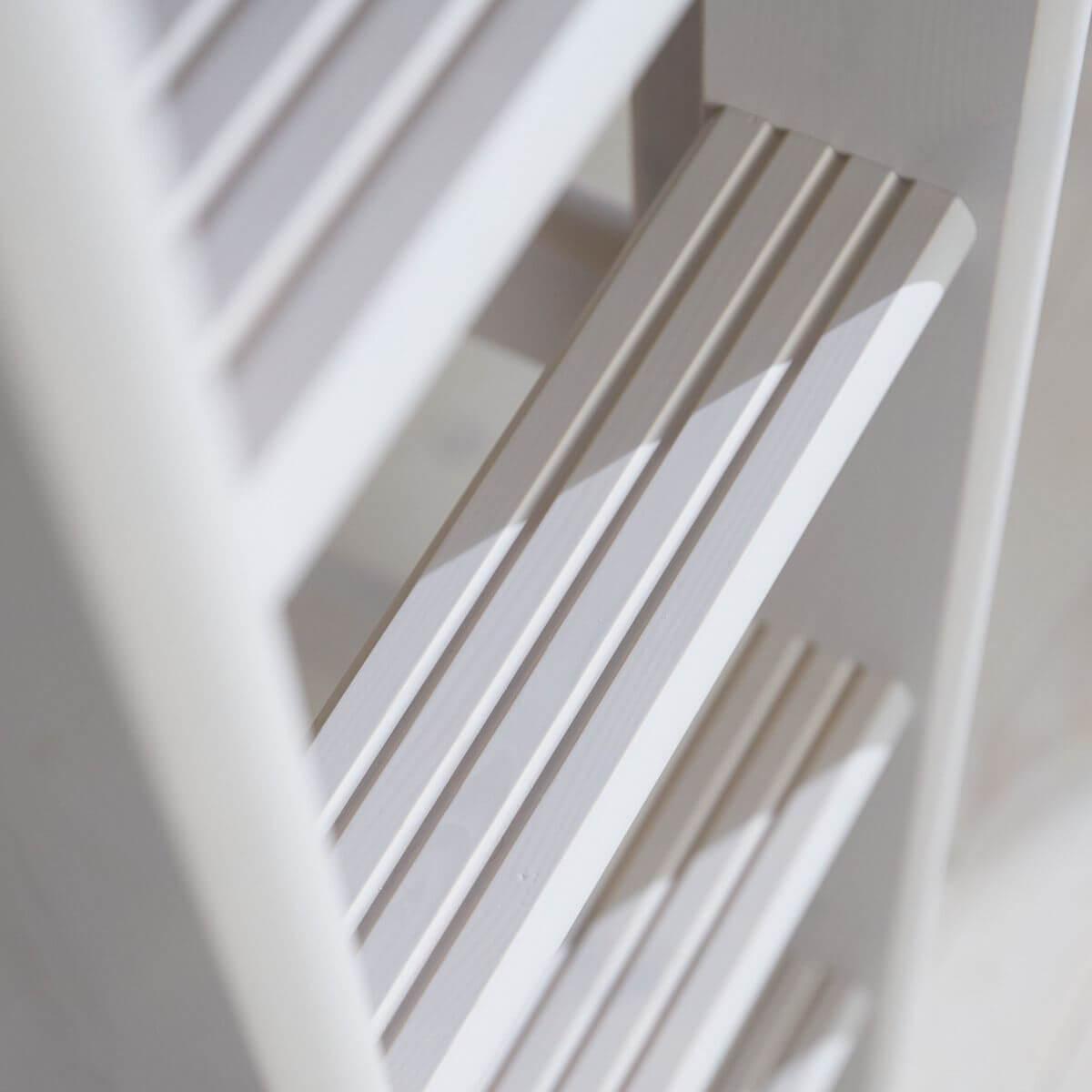 Lit mezzanine haut 90x200cm échelle droite CLASSIC Flexa grey washed