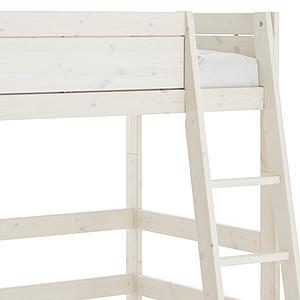 Lit mi hauteur 90x200cm échelle inclinée Lifetime whitewash