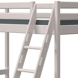 Lit superposé 90-140x200cm échelle inclinée CLASSIC Flexa grey washed