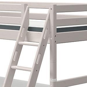 Lit superposé 90x200cm échelle inclinée CLASSIC grey washed