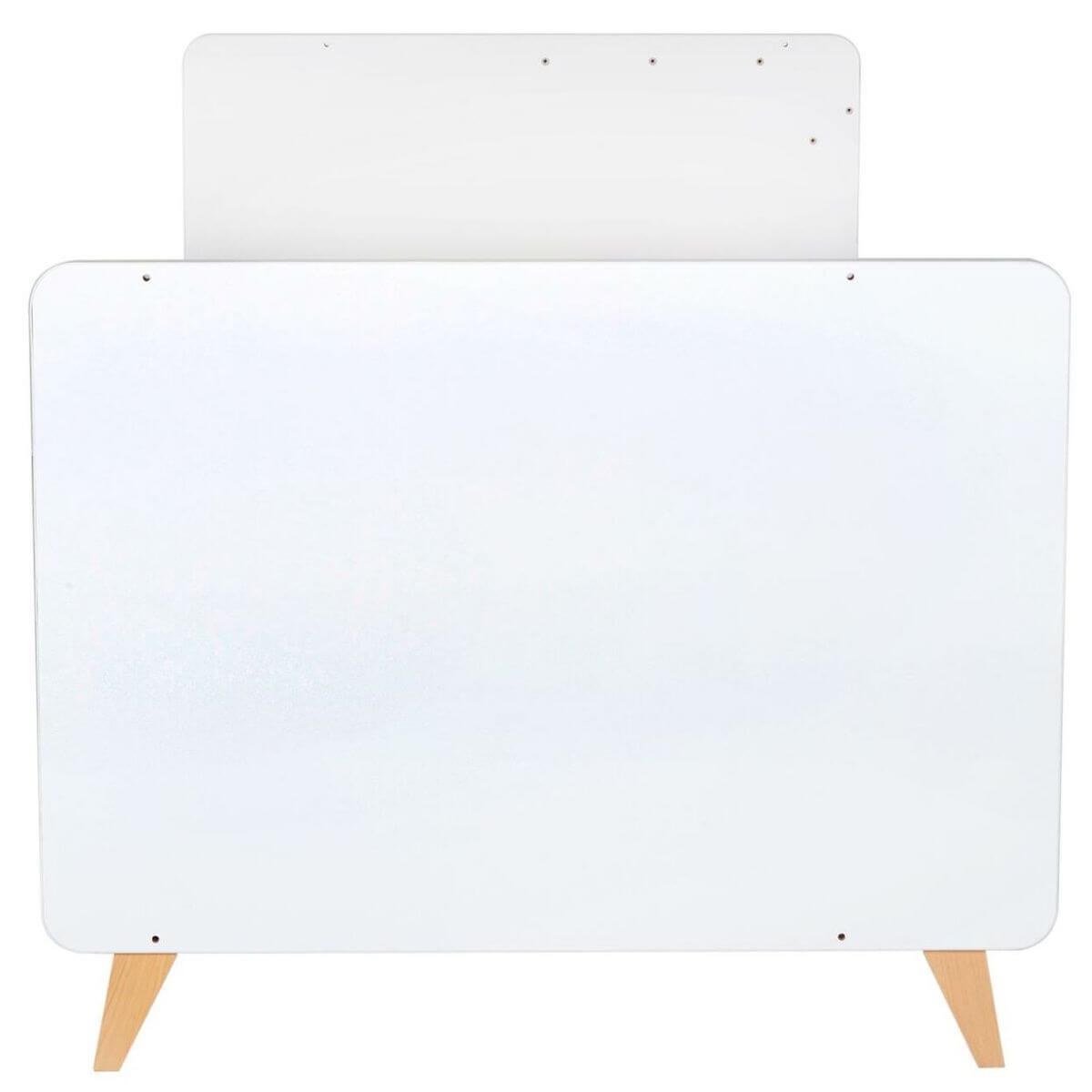 Lit transformable 60x120cm 90x200cm LOFT Quax blanc