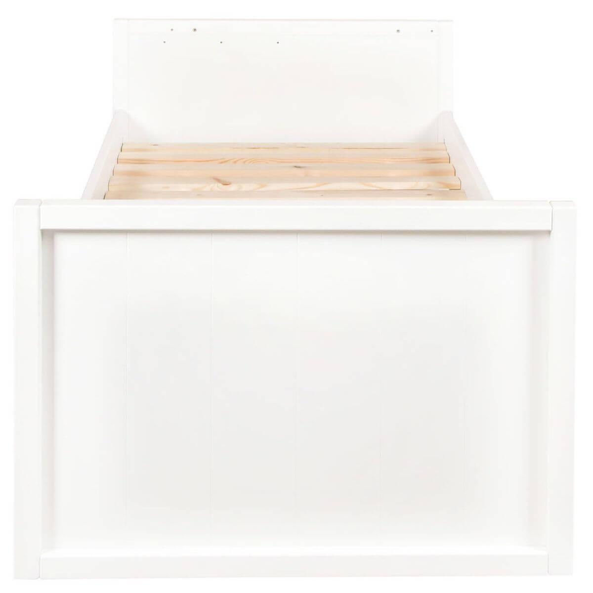 Lit transformable 60x120cm 90x200cm STRIPES Quax blanc