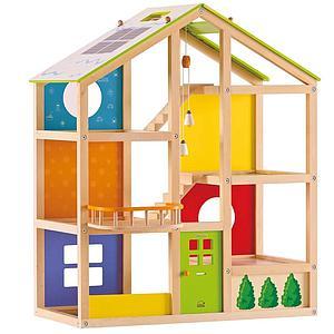 Maison de poupées FURNISHED ALL SEASON Hape