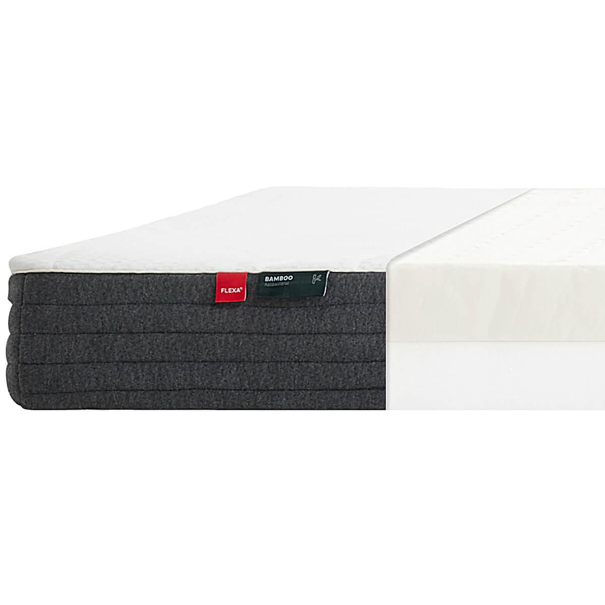 Matelas 90x200cm LATEX SLEEP Flexa bamboo
