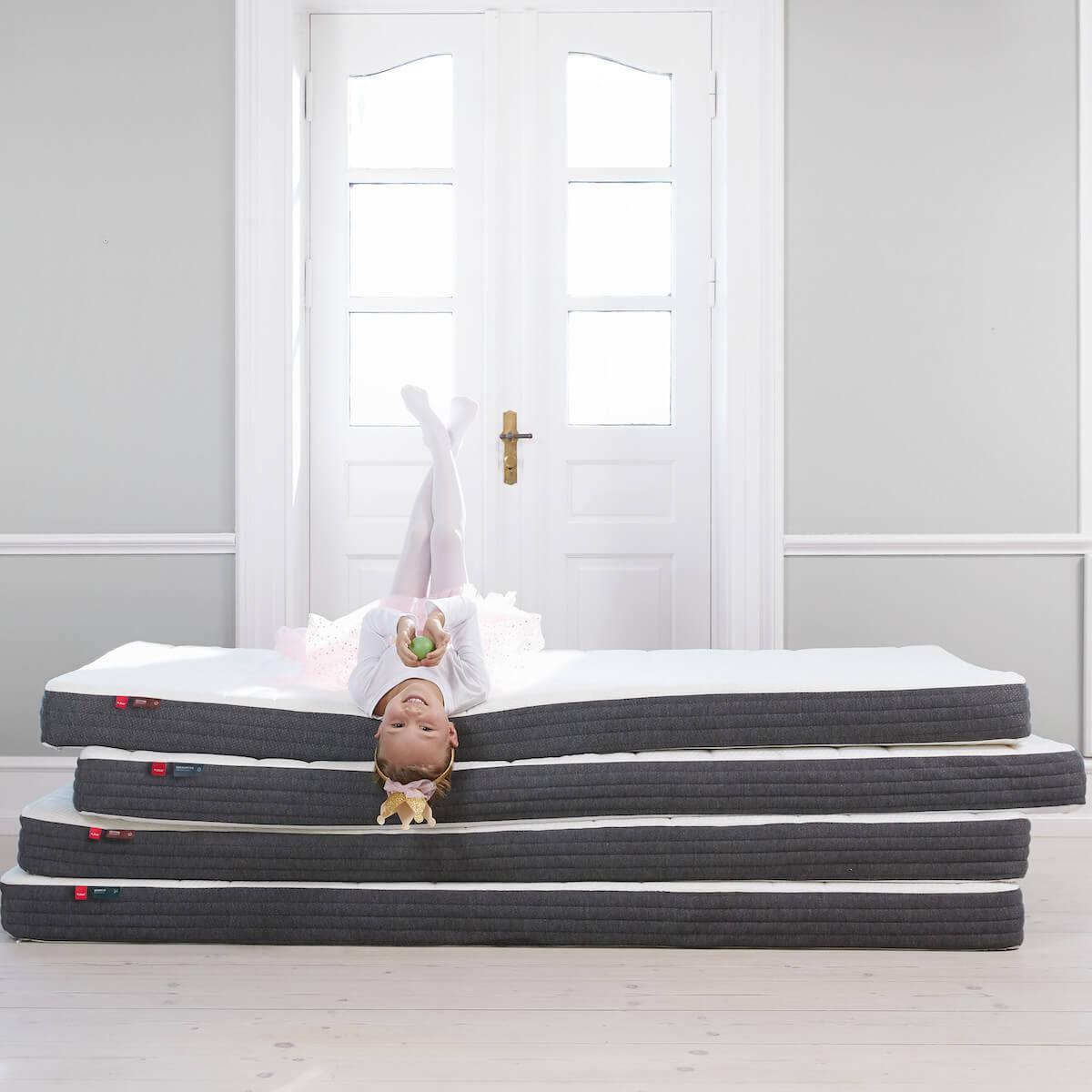 Matelas latex 140x190cm coton SLEEP Flexa