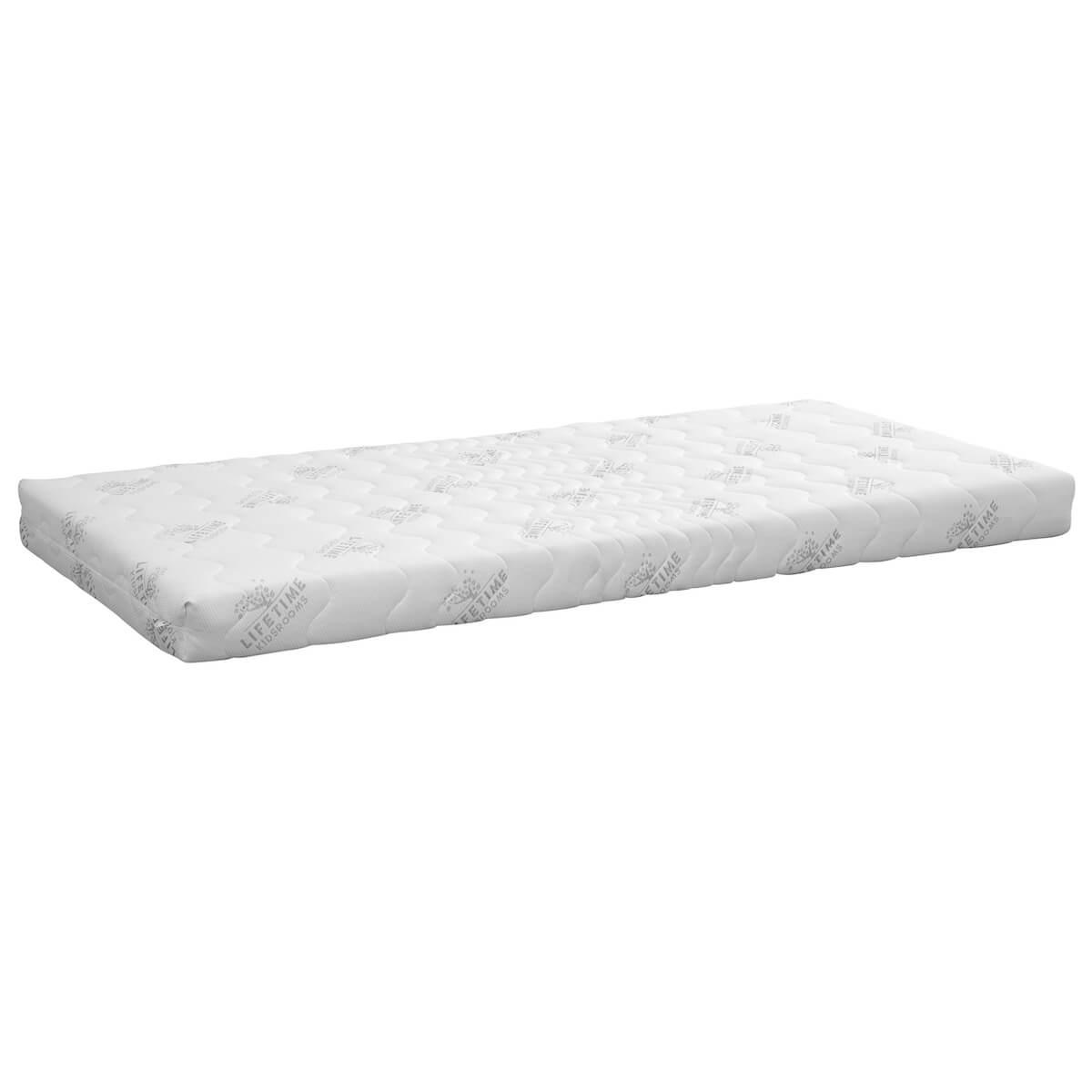Matelas mousse 90x200cm 5 zones CONFORT Lifetime