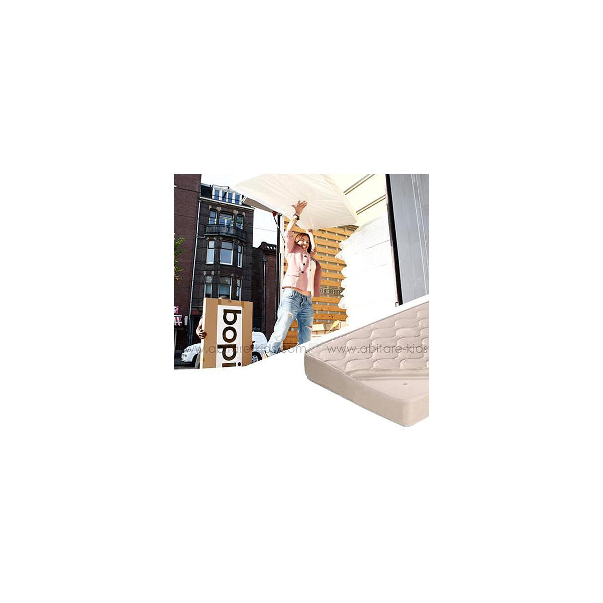 Matelas pour lit 120x200 cm hr 40 by Bopita avec housse amovible
