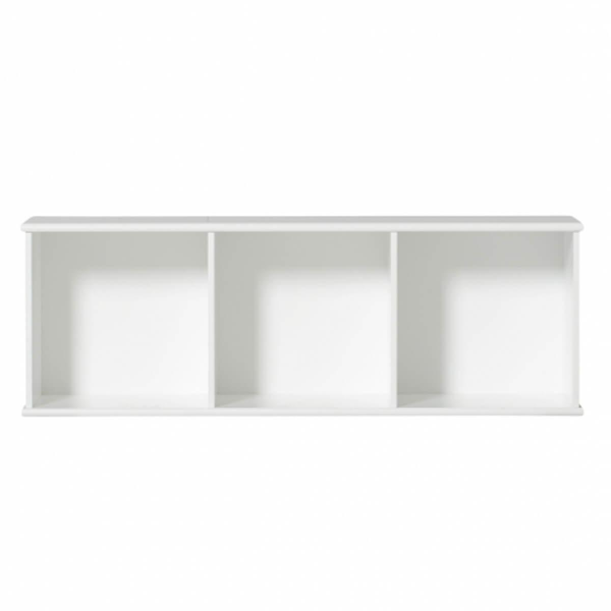 Meuble-banquette 106x43cm WOOD Oliver Furniture blanc