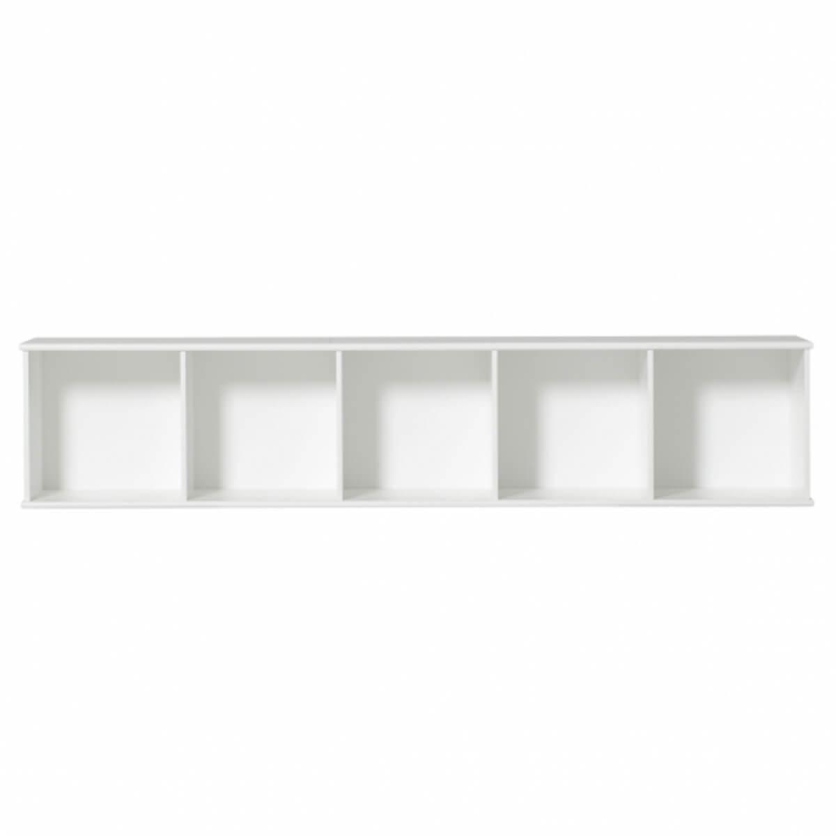 Meuble-banquette 174x43cm WOOD Oliver Furniture blanc